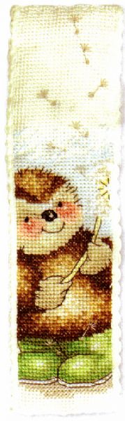 Country Companions One O'Clock, Two O' Clock Bookmark Cross Stitch Kit